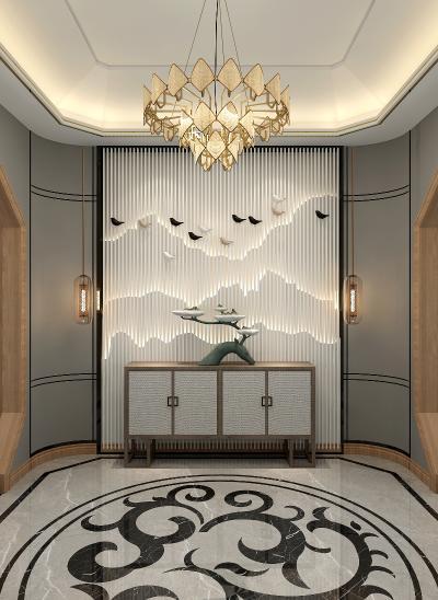 新中式门厅 过道 玄关