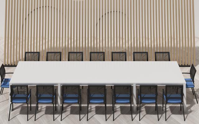 现代会议桌 椅子