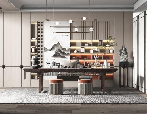 新中式風格茶室
