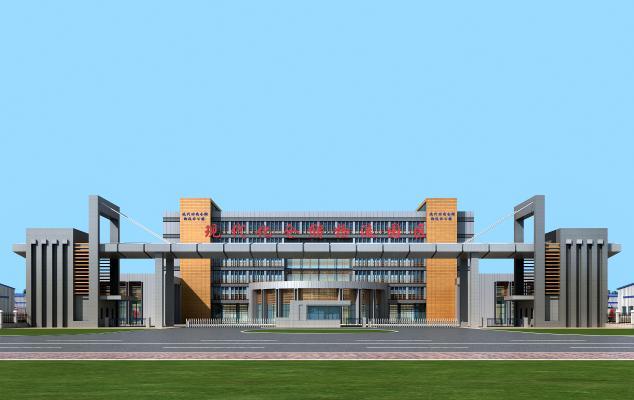 现代工业厂房建筑
