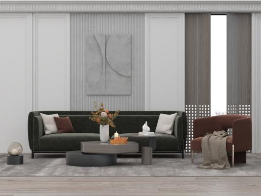 现代风格组合沙发