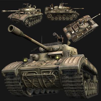 工业风坦克 装甲车