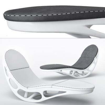 現代異形躺椅