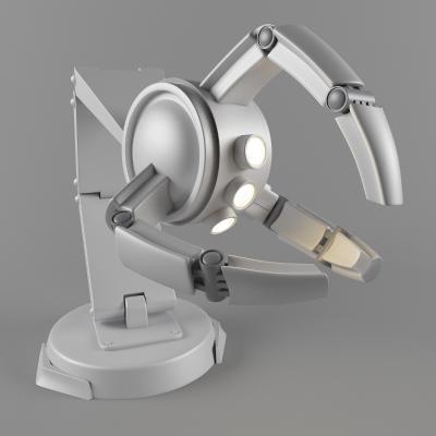 现代医疗器材 机械手臂 显微镜