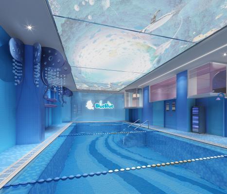 现代儿童游泳馆