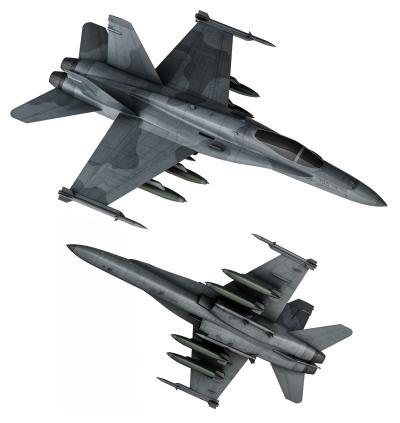 现代战斗机 飞机 喷气式战斗机