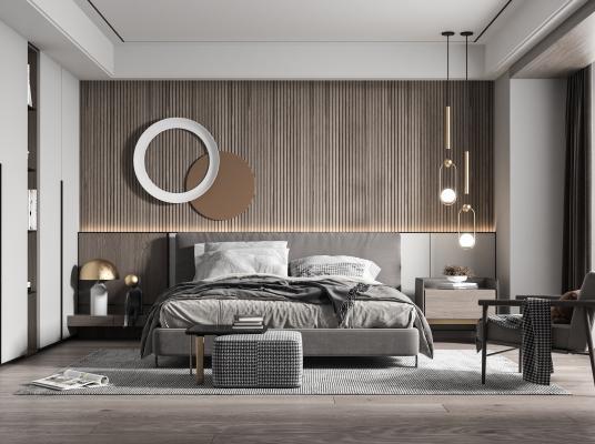 现代卧室 主卧