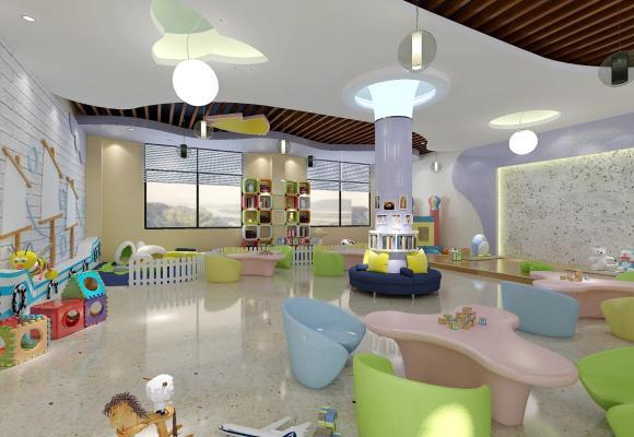北欧幼儿园 走廊