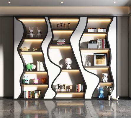 现代装饰柜,现代书柜,时尚装饰柜,儿童书柜,儿卧书房,儿童装饰柜