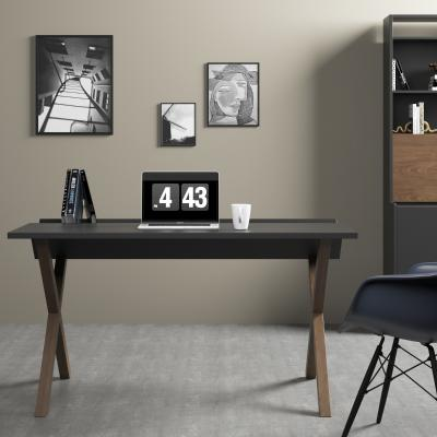 北欧风格书桌椅 书柜