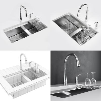 现代洗水槽