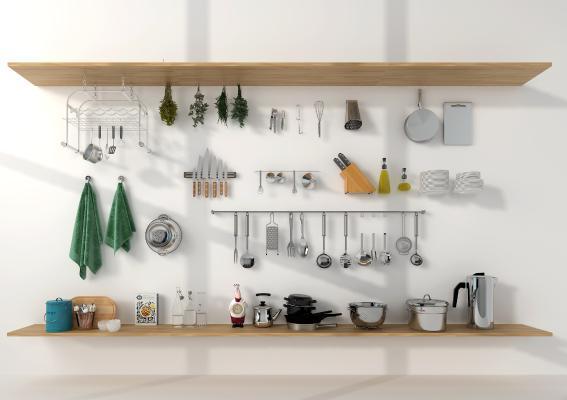 现代厨具 餐具 厨房用品 厨房器具