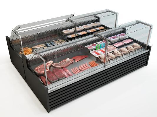 现代冰箱冰柜 冷柜 保鲜柜