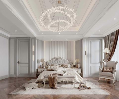 法式轻奢卧室