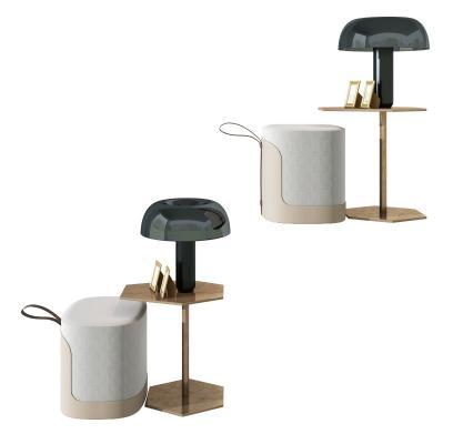 现代茶几,角几,边几,置物架,现代布艺凳子