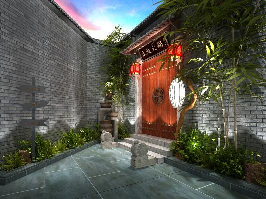 新中式门头