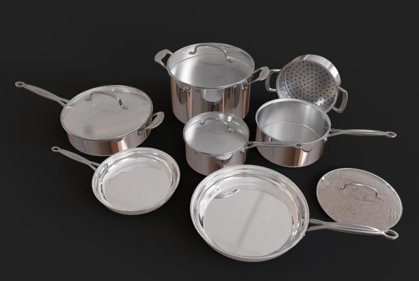 現代平底鍋湯鍋廚房用具