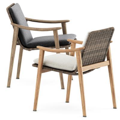 Minotti现代餐椅