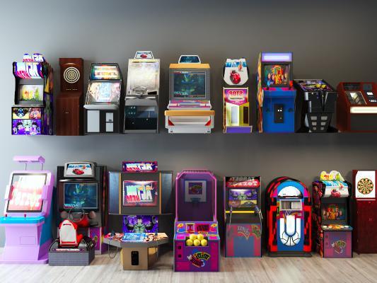 现代游戏机组合