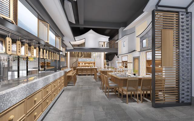 新中式火锅店 小吃店 面馆