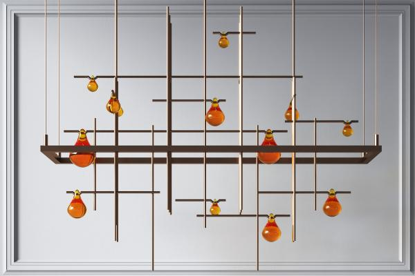 時尚吊燈,創意吊燈,餐廳吊燈,簡約吊燈,客廳吊燈,臥室吊燈,金屬吊燈