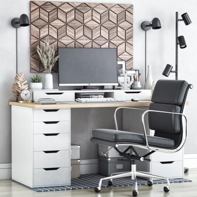 现代书桌椅 写字台 椅子 电脑