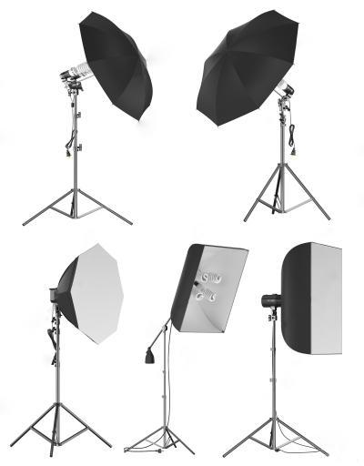 现代摄影伞灯 高光灯