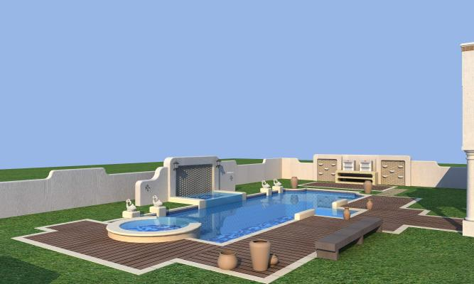 地中海泳池
