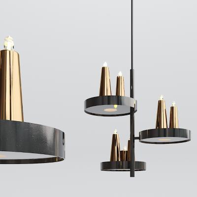 现代烤漆金属吊灯
