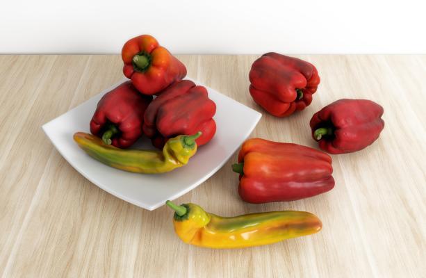现代蔬菜 菜椒 辣椒