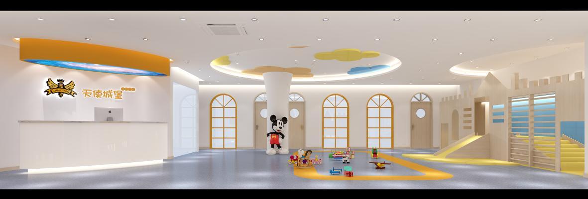 現代幼兒園 游樂活動區