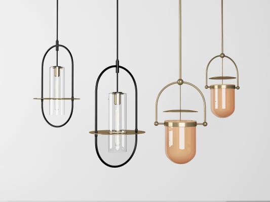 现代轻奢金属吊灯