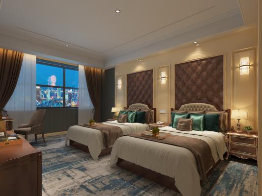簡歐酒店 窗簾 用品