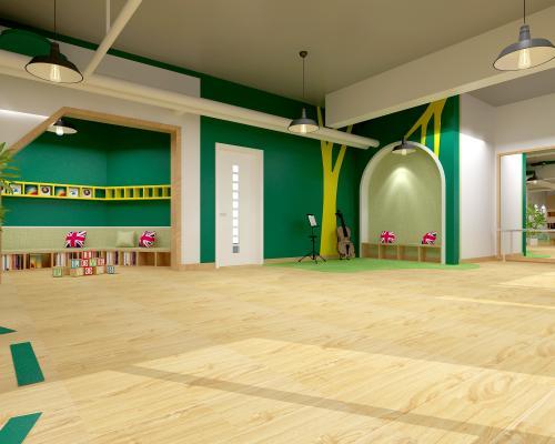 现代幼儿园教室 多功能教室 娱乐室