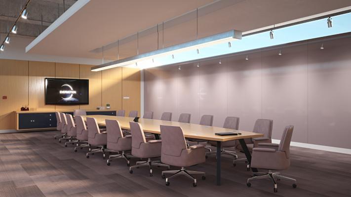 现代会议室 会议厅 多功能厅