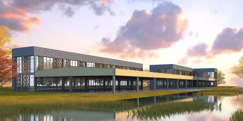 新中式工业厂房