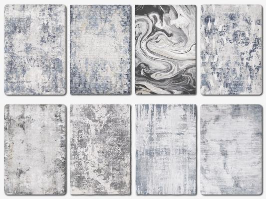 现代轻奢地毯 方毯 块毯