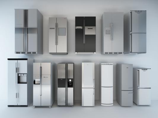 现代双开门冰箱 单开门冰箱
