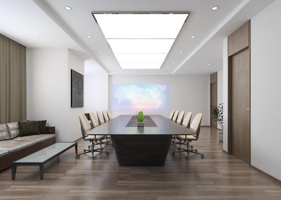 现代会议室 财务室