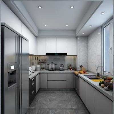 现代轻奢厨房橱柜