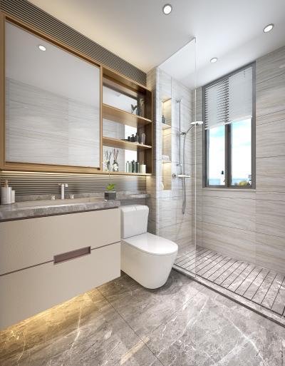 现代家居卫生间