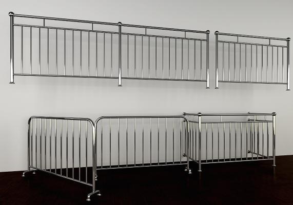 现代不锈钢护栏 栏杆 不锈钢防护隔断栏杆