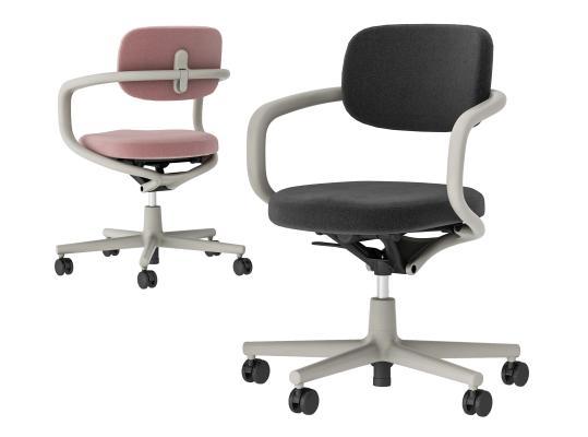 现代简约办公椅 五星轮椅 商务椅
