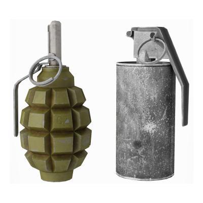 现代手榴弹 闪光弹 照明弹