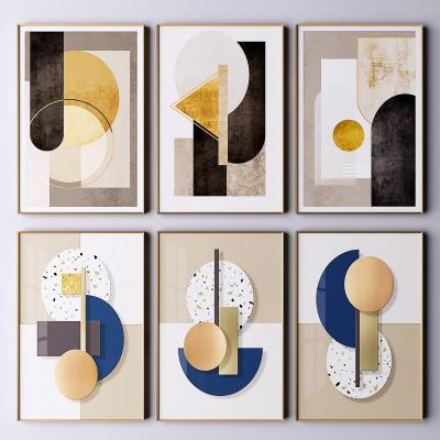 现代挂画 艺术装饰画 抽象画