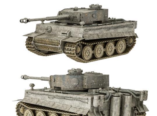现代虎式坦克 战车
