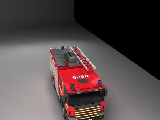 現代119急救車