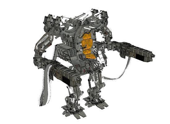 现代变形机器人
