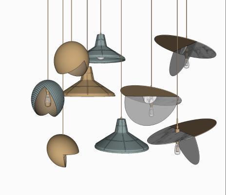 现代小吊灯