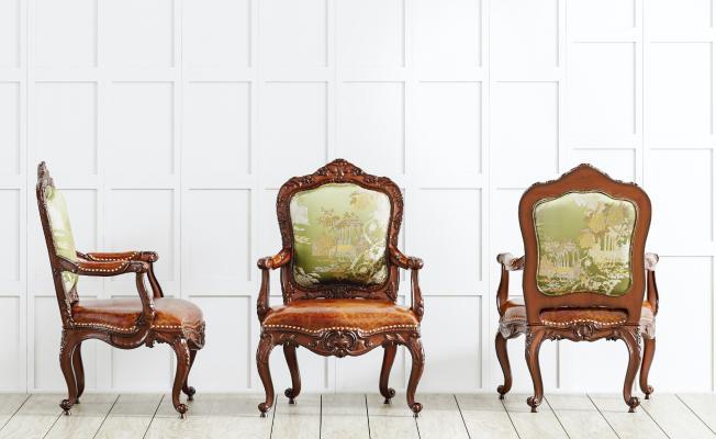 法式風格休閑椅